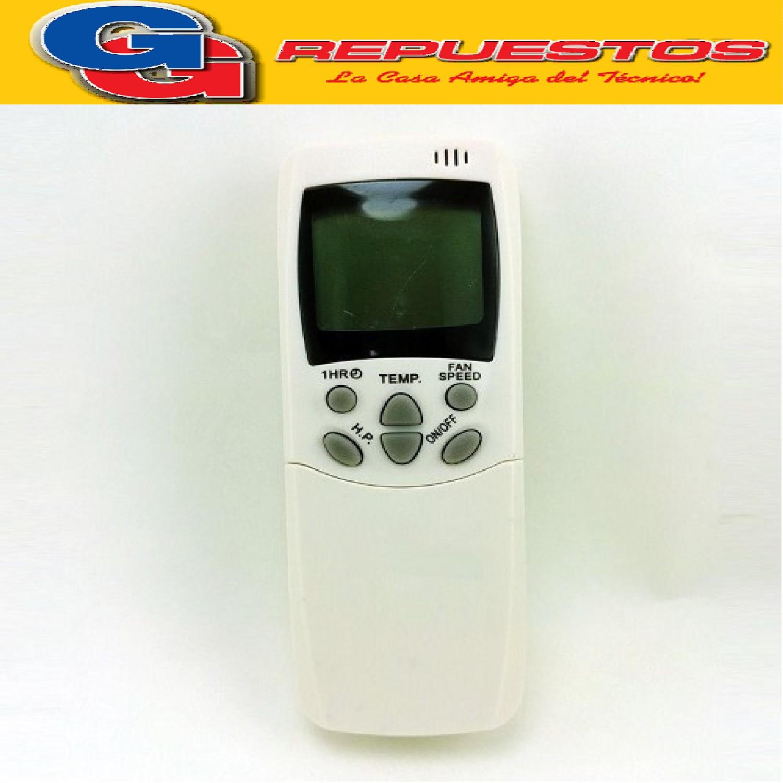 CONTROL REMOTO AIRE ACONDICIONADO [[FRIO SOLO]] (ELECTROLUX / WHITE WESTINGHOUSE / SIGMA) RCH-28NF