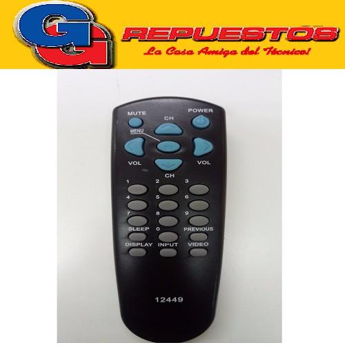 CONTROL REMOTO 2449 LINEA ECONOMICA DAEWO PHILCO R4301A