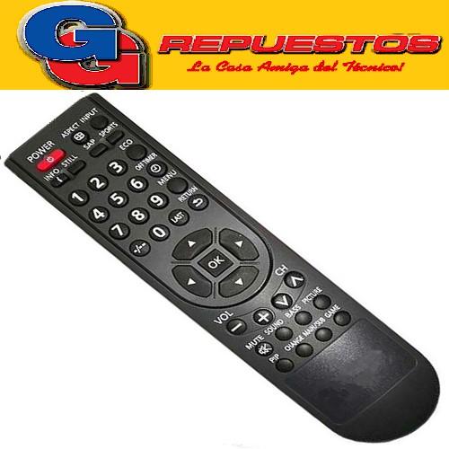 CONTROL REMOTO LED LCD PANASONIC 3591