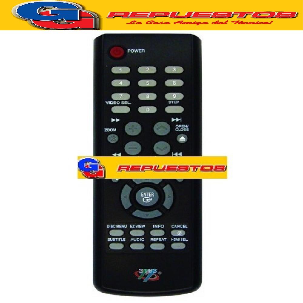 CONTROL REMOTO DVD SAMSUNG 3163