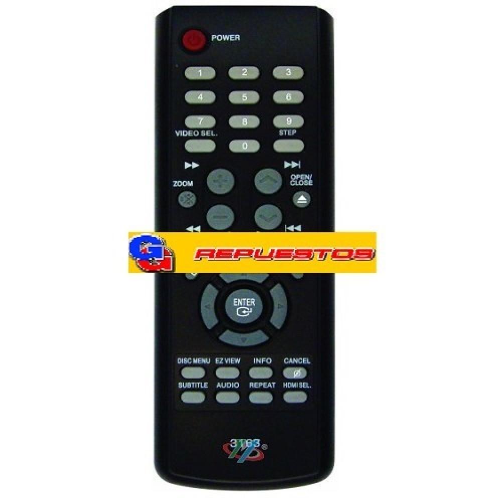 CONTROLES REMOTO DVD SAMSUNG 3163