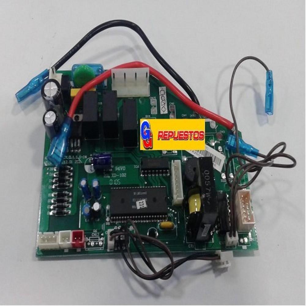 PLAQUETA ORIGINAL AIRE ACONDICIONADO SPLIT 801C (CE-KF53GW/Y-C(T) // KFR-50GW/EY.D.1.1.1-1-1N V1.5)