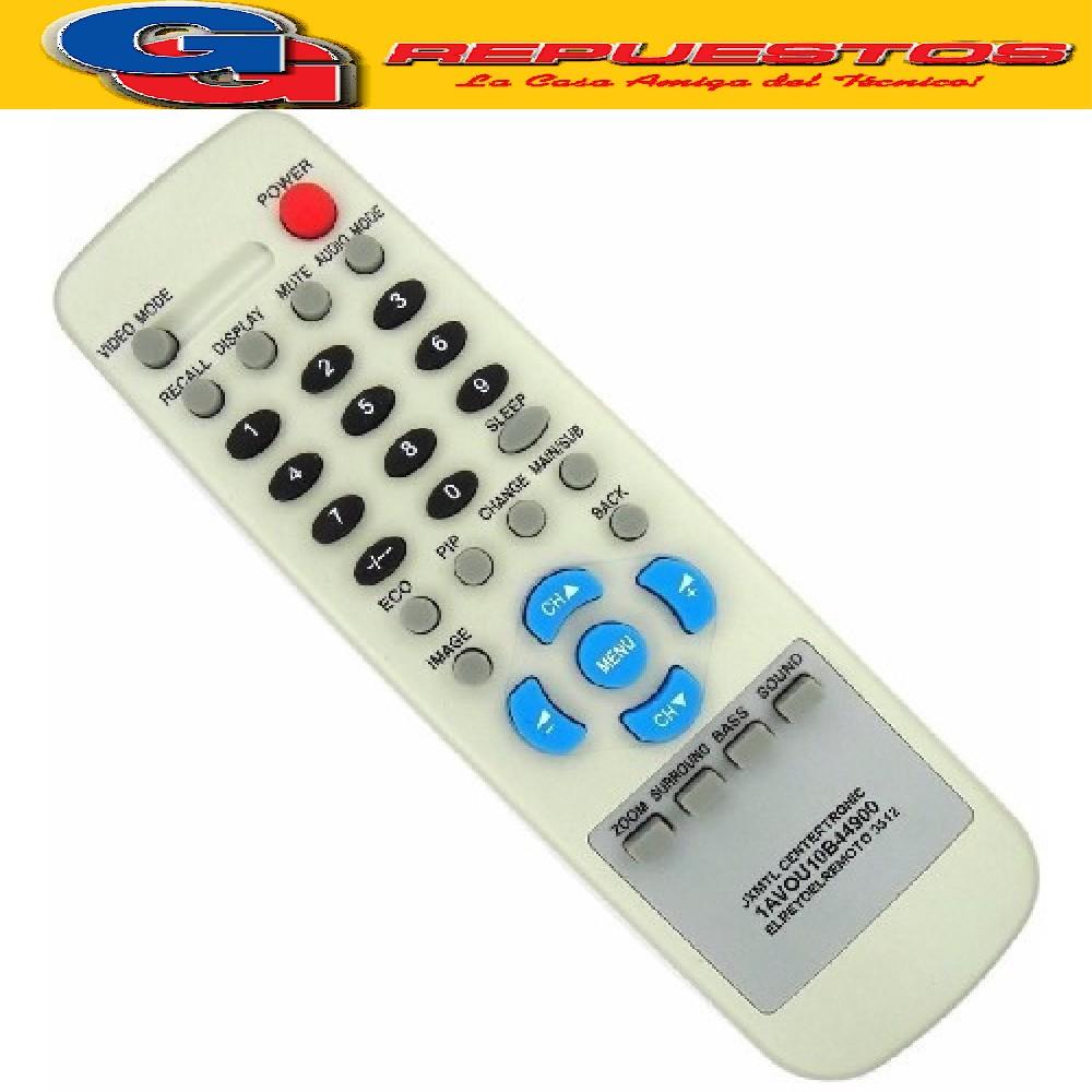 CONTROL REMOTO SANYO GRANDE JXMTL 3512