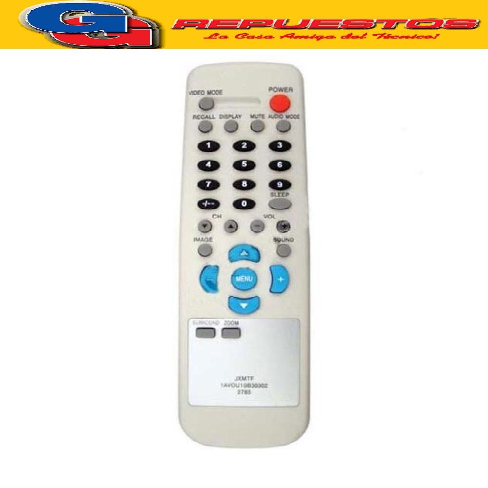 CONTROL REMOTO TV SANYO GRANDE JXMTF