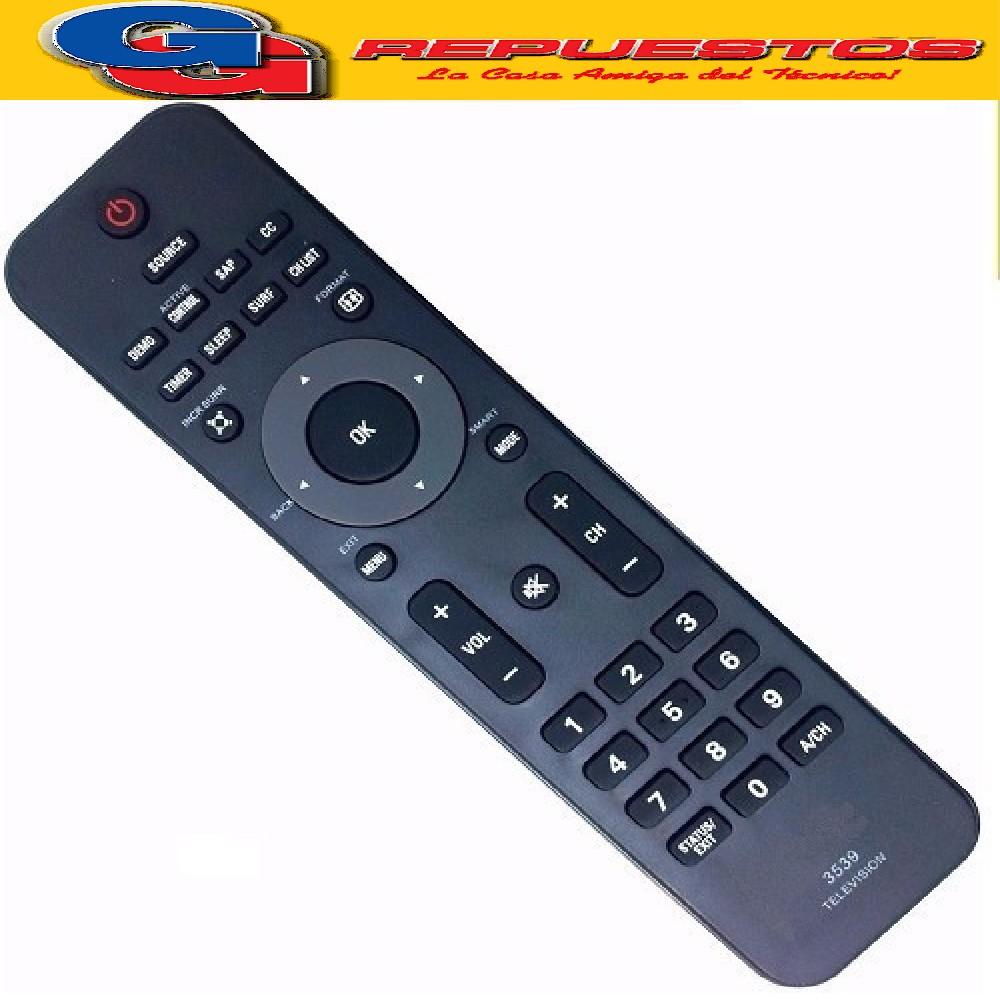 CONTROL REMOTO LCD PHILIPS R6539 (3539)