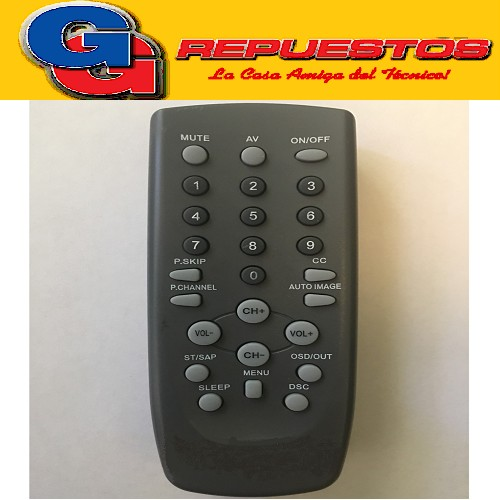 CONTROL REMOTO PHILIPS-CCE-TALENT-TOP HOUSE- NISATO RC201-2725