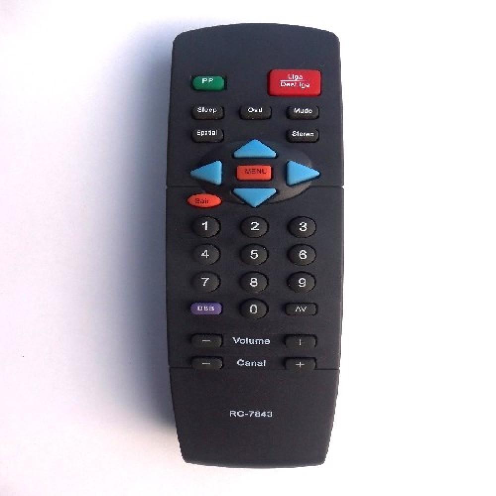 CONTROL REMOTO TV PHILIPS RC7843 (2437)