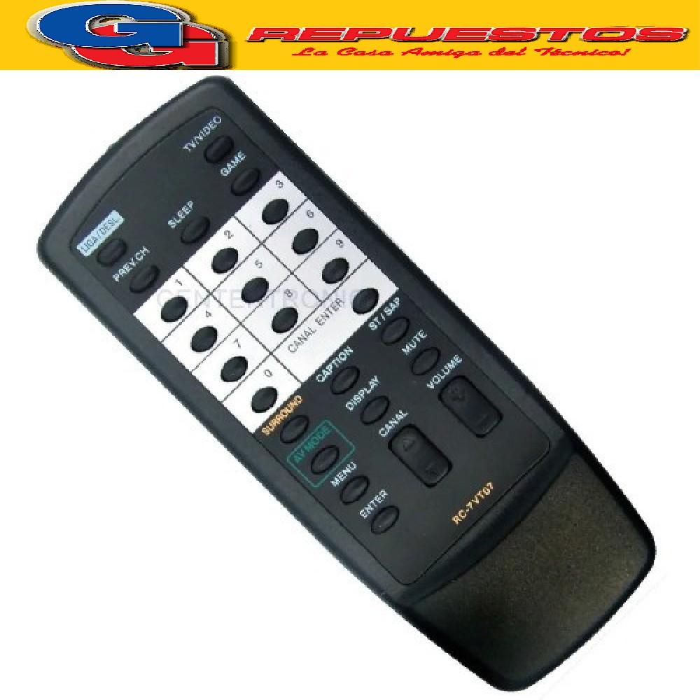 CONTROL REMOTO AIWA RC7VT07 (2464)
