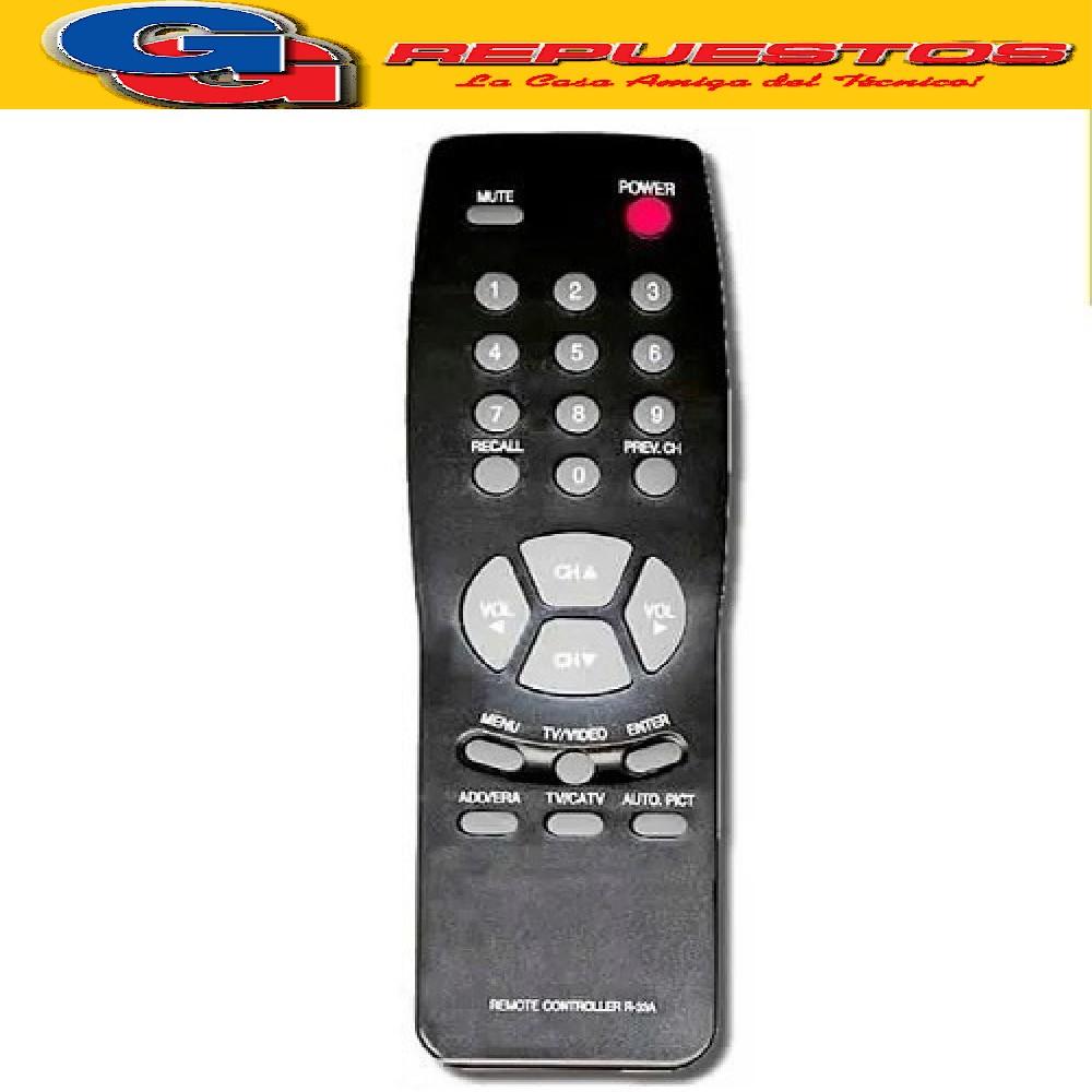 CONTROL REMOTO TV PHILCO-DAEWO R4445 (2445)