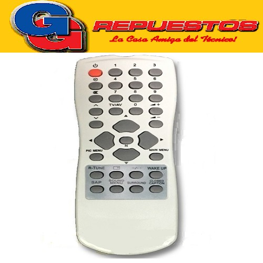 CONTROL REMOTO PANASONIC PANTV