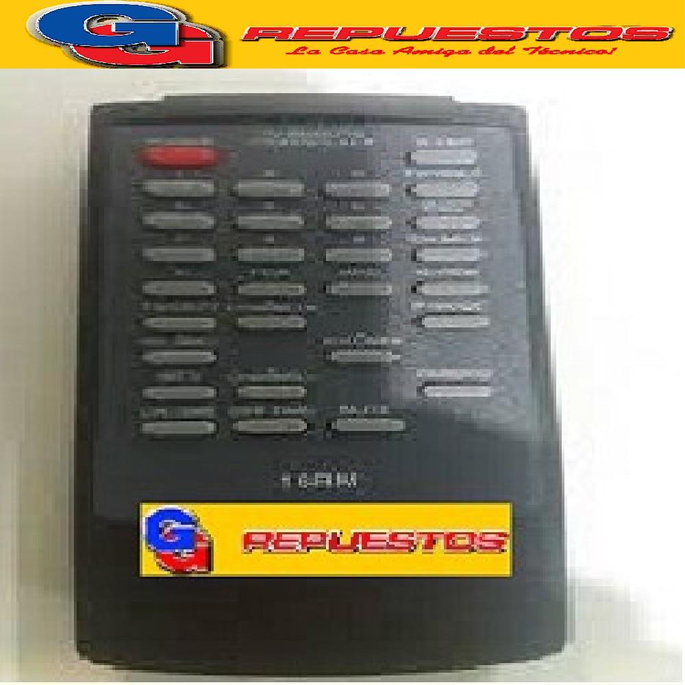 CONTROL REMOTO TV GOLDSTAR SERIE DORADA CONTINENTAL 16RM (2641) FS-092F