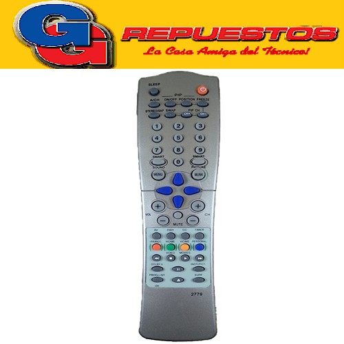 CONTROL REMOTO PHILIPS CON PICTURE IN PICTURE 2779