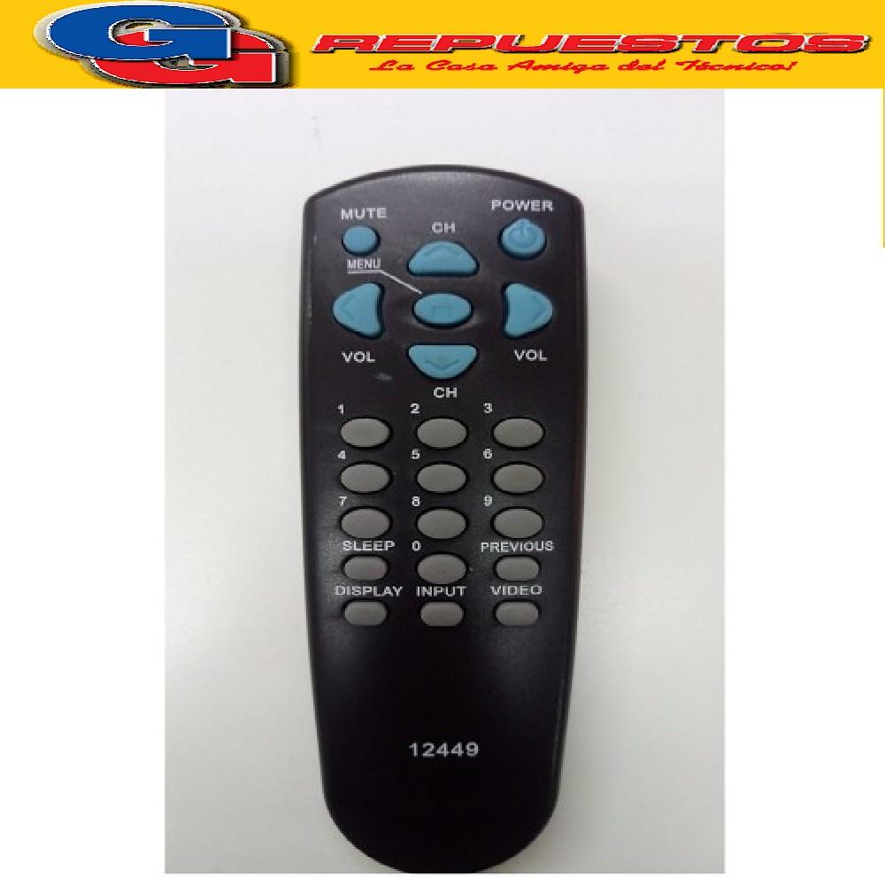CONTROL REMOTO TV PHILCO-DAEWO R43A01 (2449)