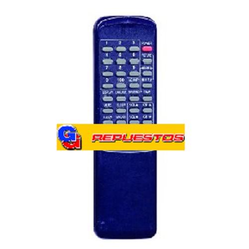 CONTROL REMOTO TV MP1119 ADMIRAL AKIO AUDINAC BRU COSMIC CROW (2657)