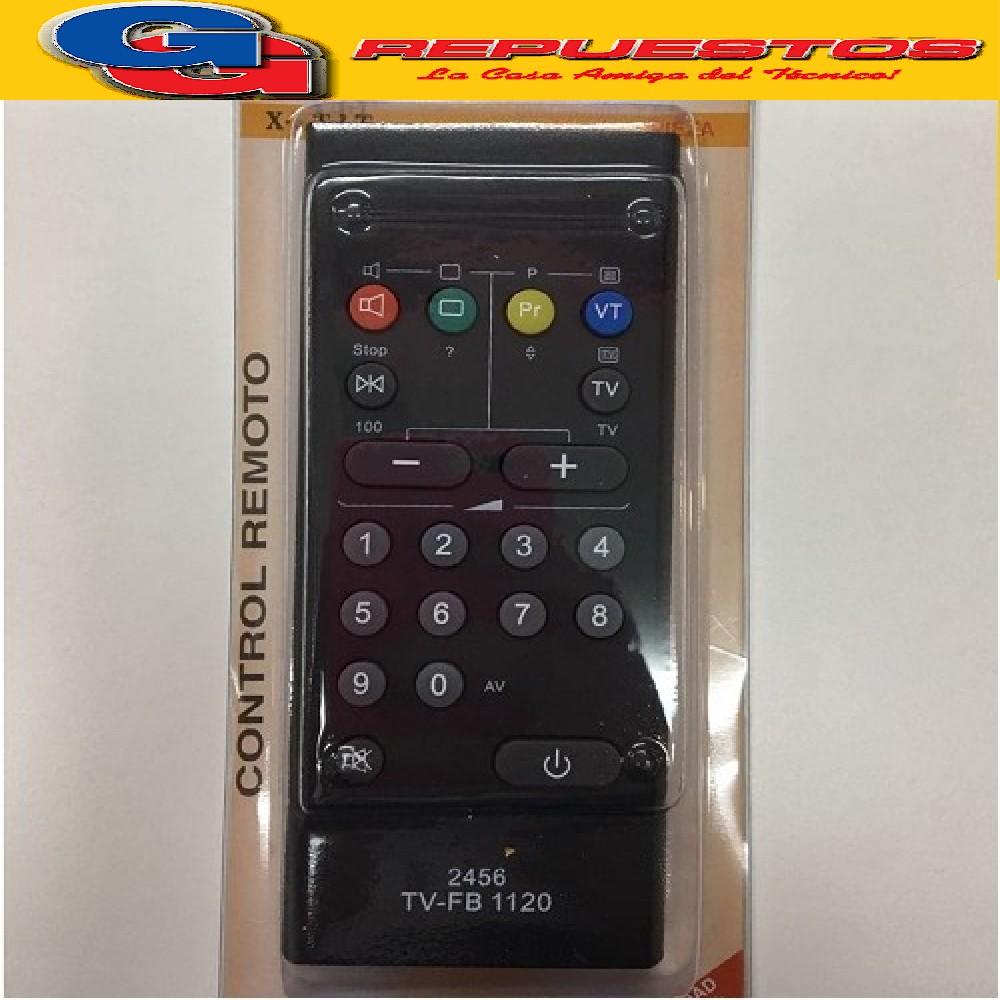 CONTROL REMOTO TV TELEFUNKEN TFB1120- 2456