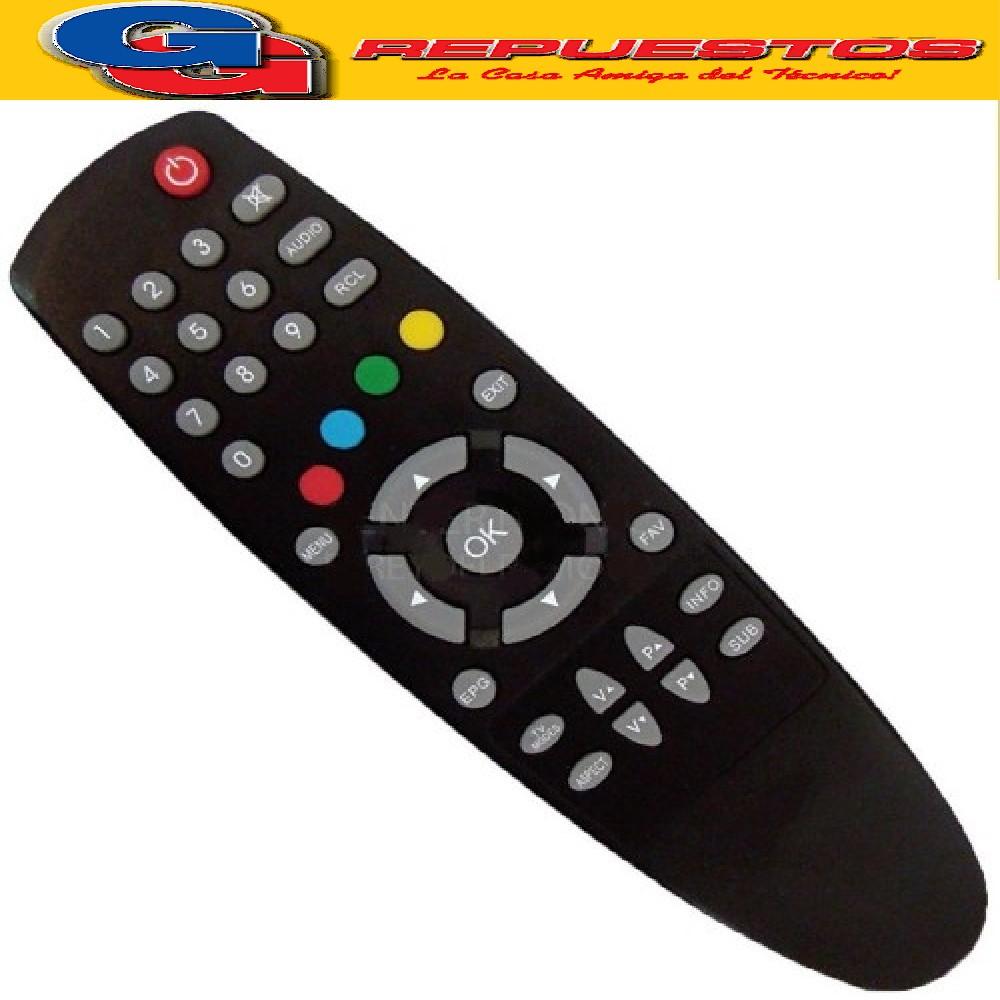 CONTROL REMOTO CORADIR CABLE SATELITAL R6570 3570 SINTONIZADOR TDA