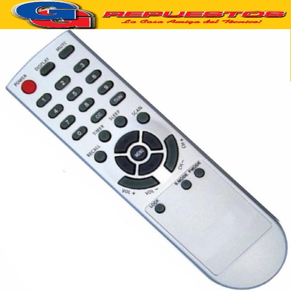CONTROL REMOTO TV FIRSTLINE FLINE29 ( 3196) DURABRAND TB -DB29SLIM