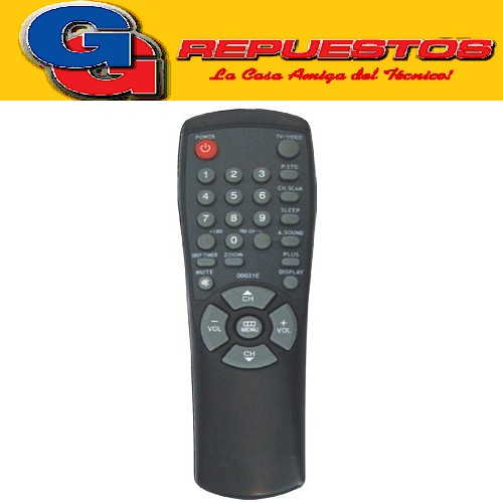 CONTROL REMOTO TV SAMSUNG-GRAL. ELECTRIC 0=2792 =2687