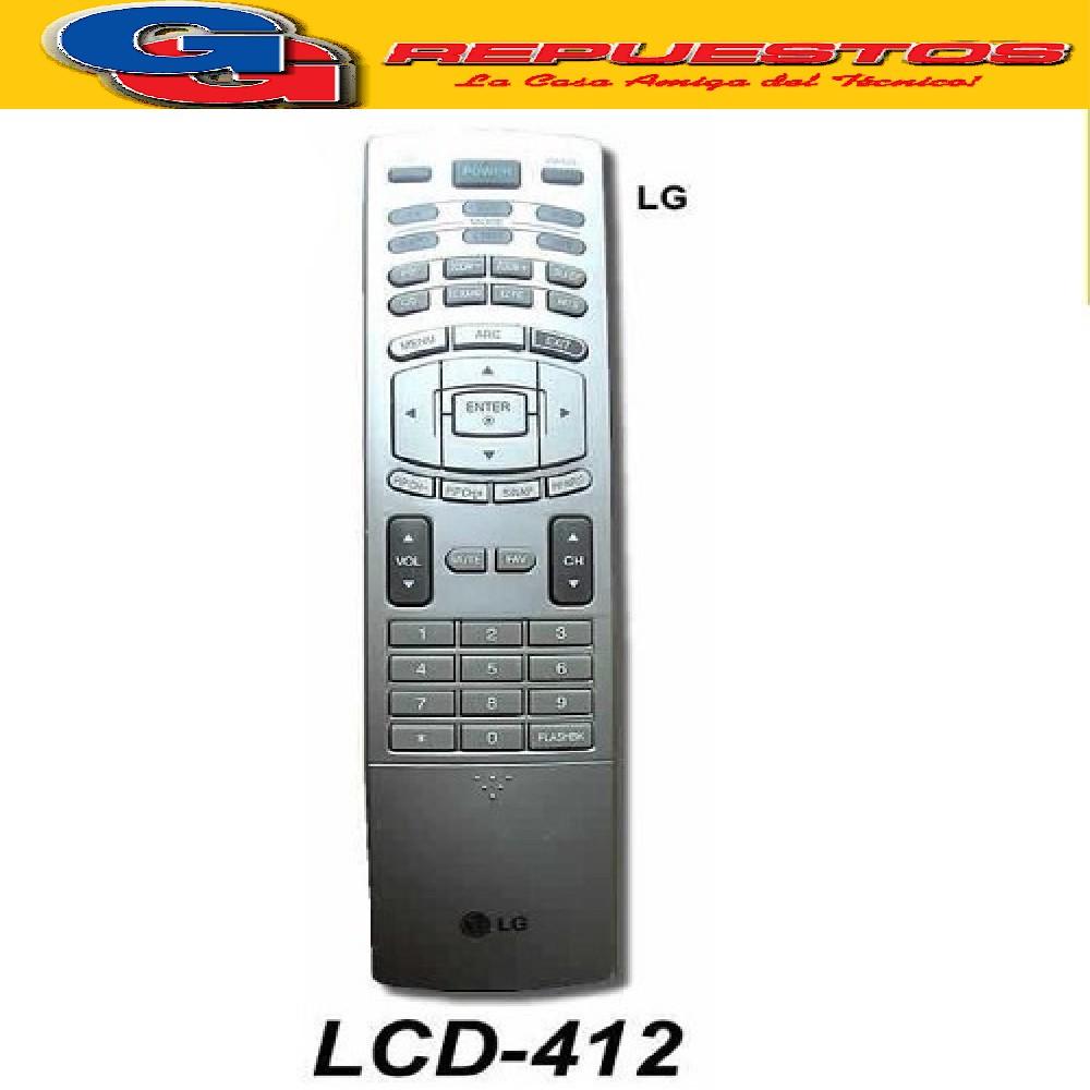 CONTROL REMOTO LCD LG R6552 (3552) PLASMA