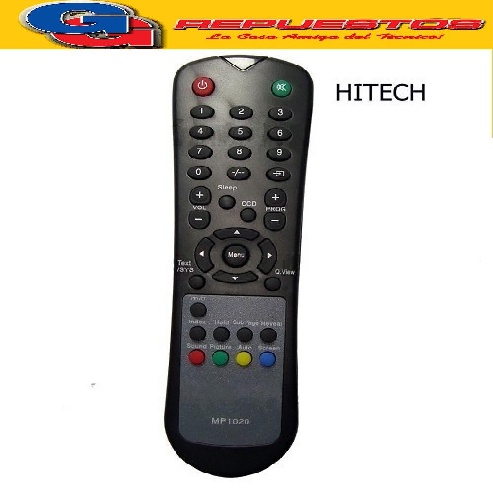 CONTROL REMOTO LCD HI-TECH R6106 (3106)