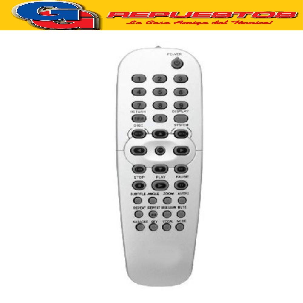 CONTROL REMOTO DVD PHILIPS D825 (2567)