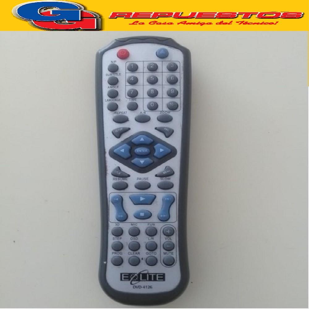 CONTROL REMOTO DVD EOLITE D808 (2802)