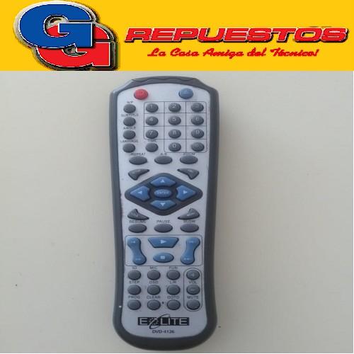 CONTROL REMOTO DVD EOLITE (2802) DVD4126 DVD-4126