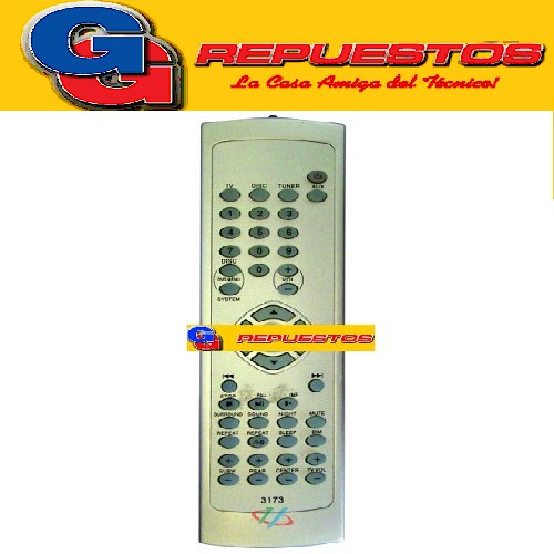 CONTROL REMOTO DVD HOME PHILIPS D855 (3173)