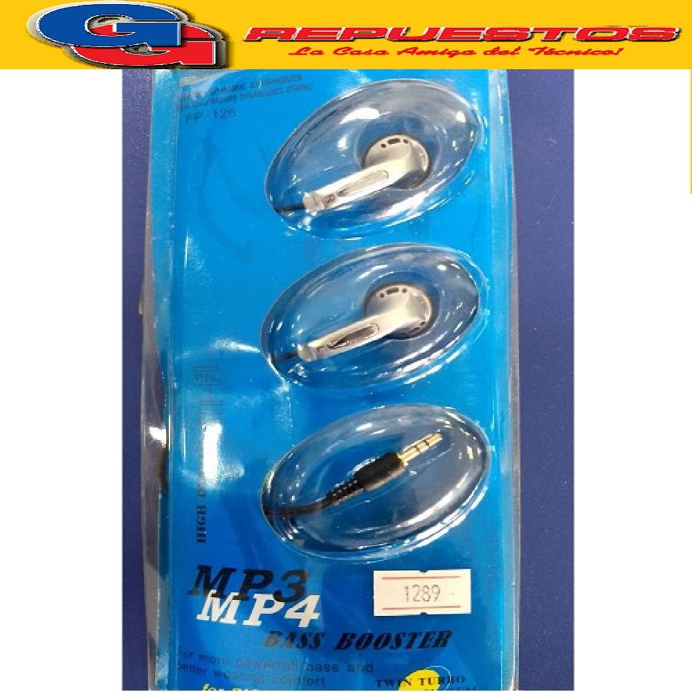 AURICULAR ESTEREO 2.5MM MP3/MP4/