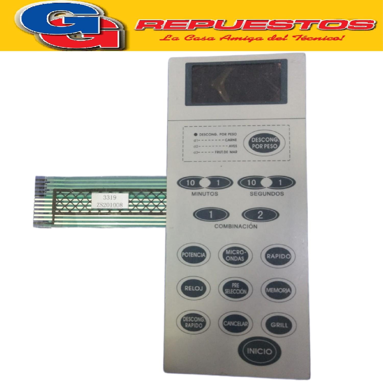 TECLADO MICROONDAS  MD200 SMEG 30L WD90023QS