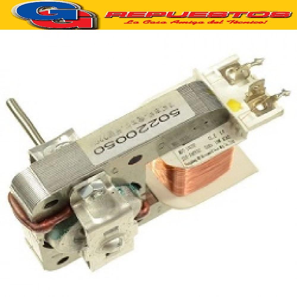 MOTOR VENTILADOR MICROONDAS EJE LISO FORZADOR (DIAMETRO EJE 3 mm) 220 V 0.30 A 66 W LARGO DEL EJE 32 mm