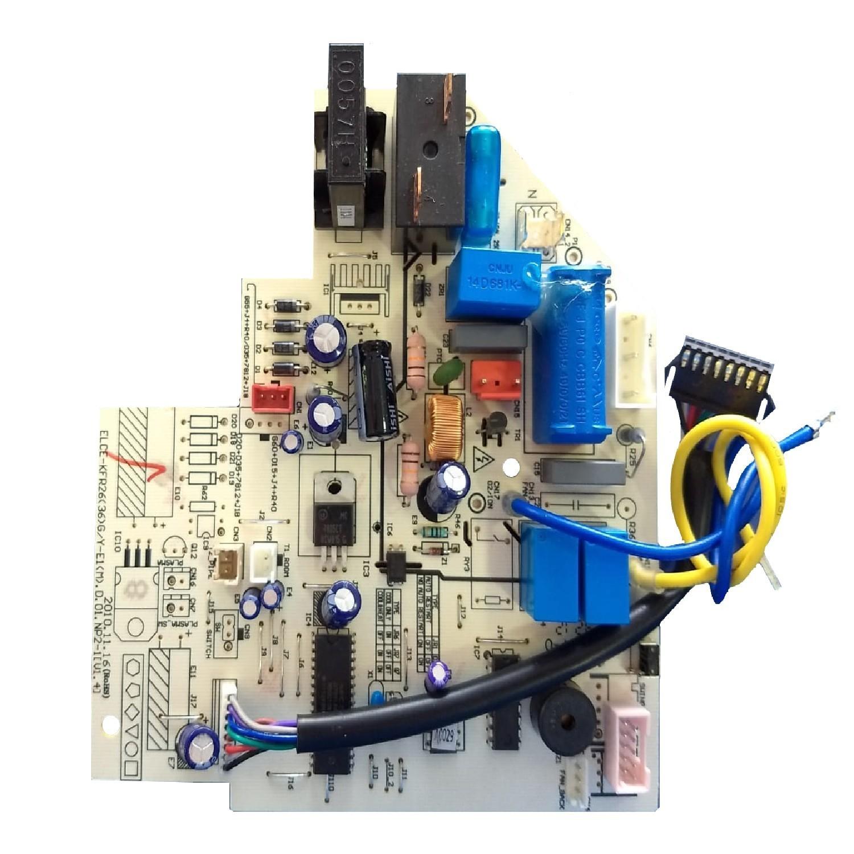 PLAQUETA ORIGINAL AIRE ACONDICIONADO SPLIT ELECTROLUX (CEKFR26(36)G/Y-E1 D.01.NP2-1 V2.5)