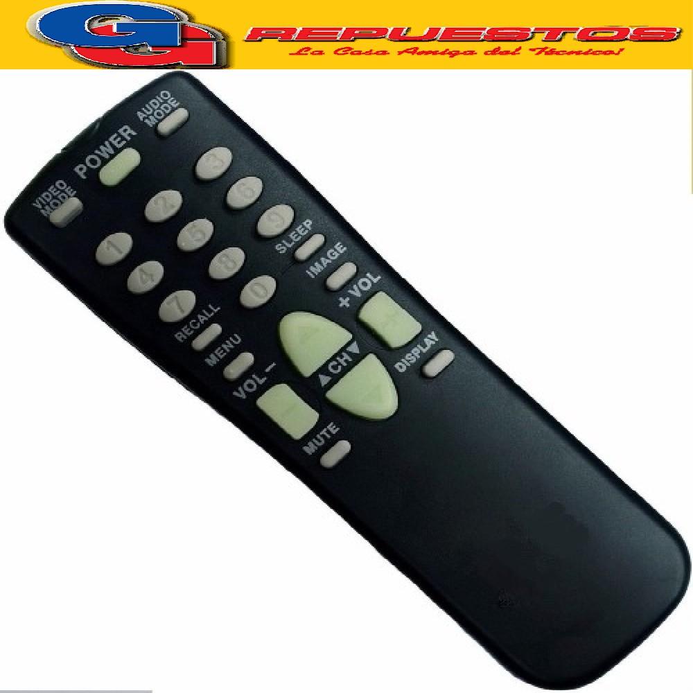 CONTROL REMOTO SANYO FXMRS 2560