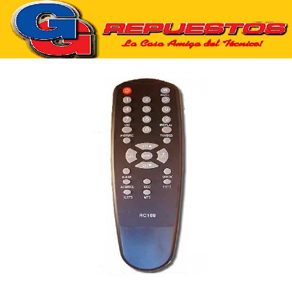 CONTROL REMOTO TV ADMIRAL TALENT AUDINAC (2984) RKC3010
