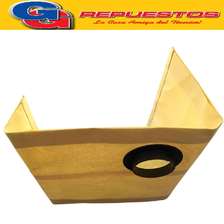 BOLSA ASPIRADORA DE PAPEL TURBION WAP 20 LTS. X 3 UNIDADES YELMO A10 HIDROVAC A=6.4 cm  BTA A-30