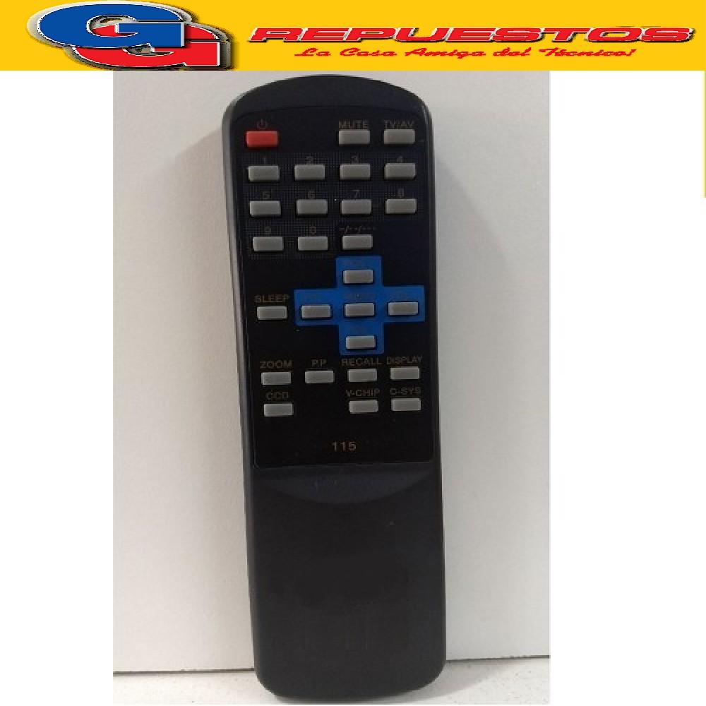 CONTROL REMOTO TV DURABRAND (3149)