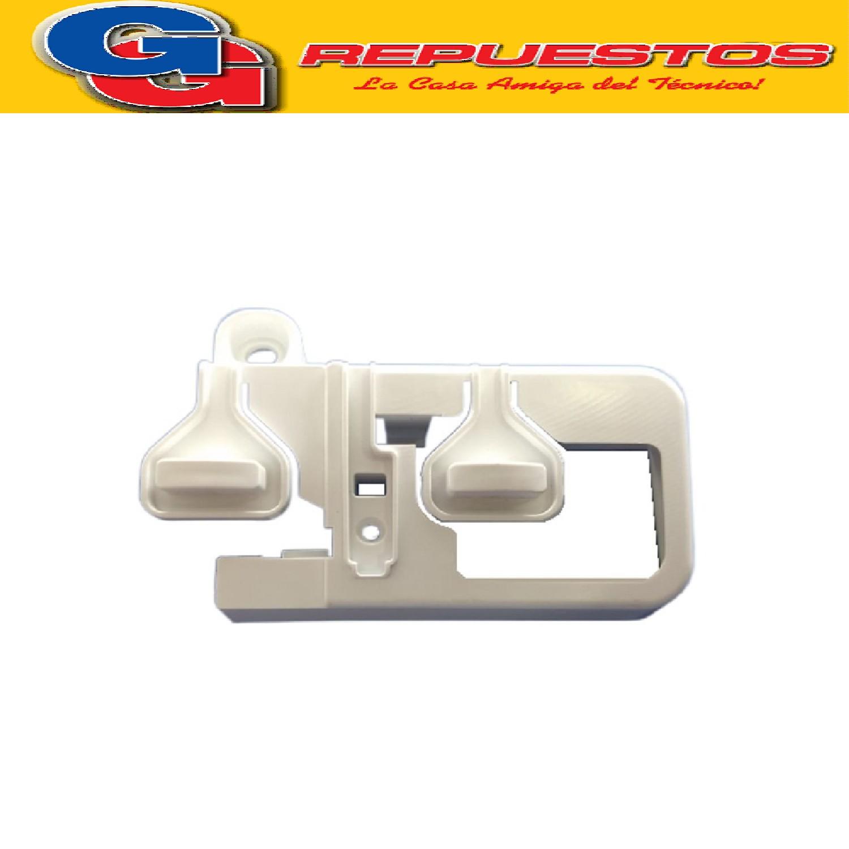 BOTONERA ESTETICA IZQUIERDA DOBLE LAVARROPAS LONGVIE L8010 - LONGVIE L6510-L6505-L6508-CANDY EVO1083D 12-C08652D12-GC08652D (ORIGINAL) Cod.Origen: 41040818 (LONGVIE) LA DC - BOTONERA IZQ 41040818 (LONGVIE) Contenedor modulo electr.panel mand