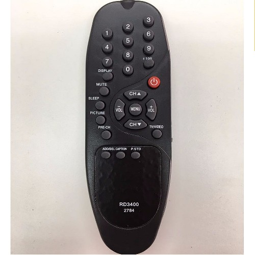 CONTROL REMOTO TV ADMIRAL/AUDINAC RD3400 (2784)