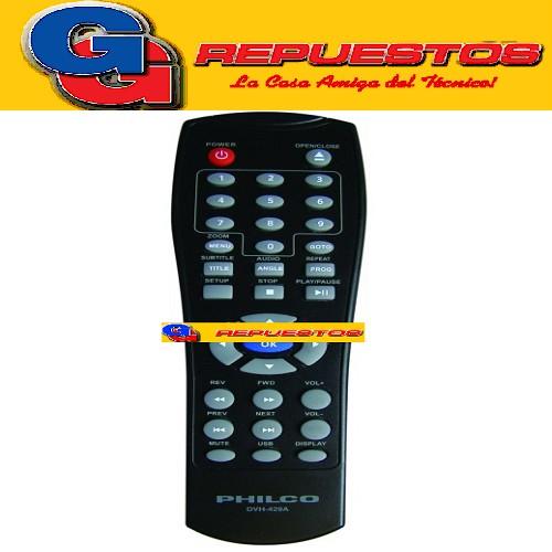 CONTROL REMOTO DVD NOBLEX - BGH - PHILCO (3565) DVD870