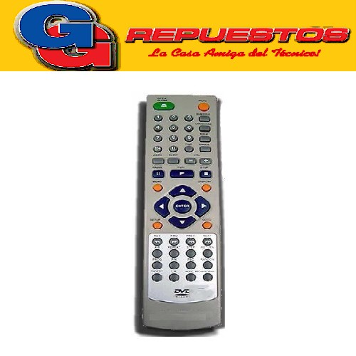 CONTROL REMOTO DVD DVD803 ADMIRAL - GLOBAL HOME (2758)