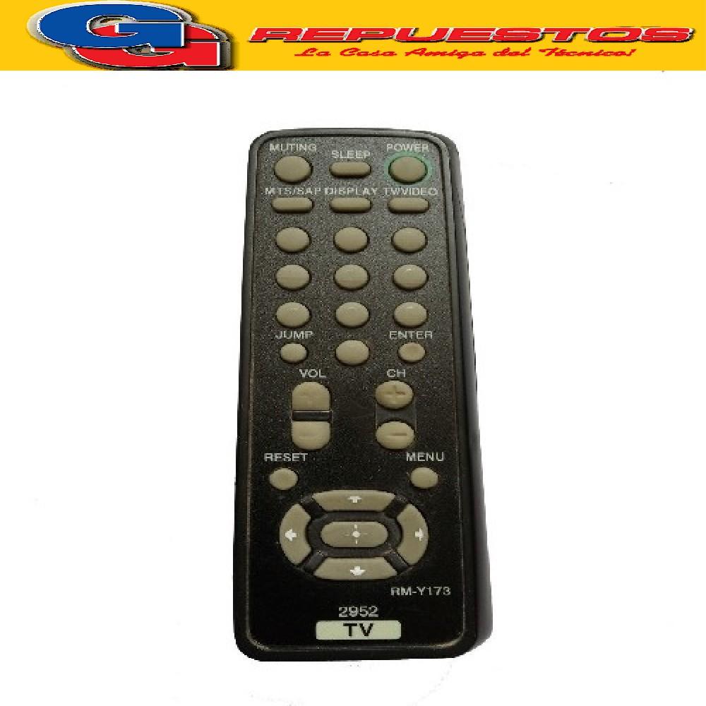 CONTROL REMOTO TV SIMILAR A SONY  RMY173 2952