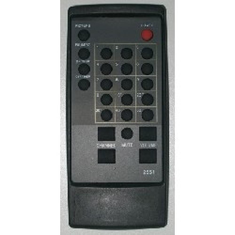 CONTROL REMOTO TV PHILCO - CCE RC27T08 (2551)