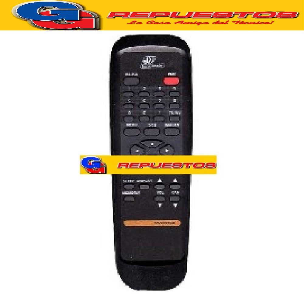 CONTROL REMOTO TV SERIE DORADA RC2005 (2651)