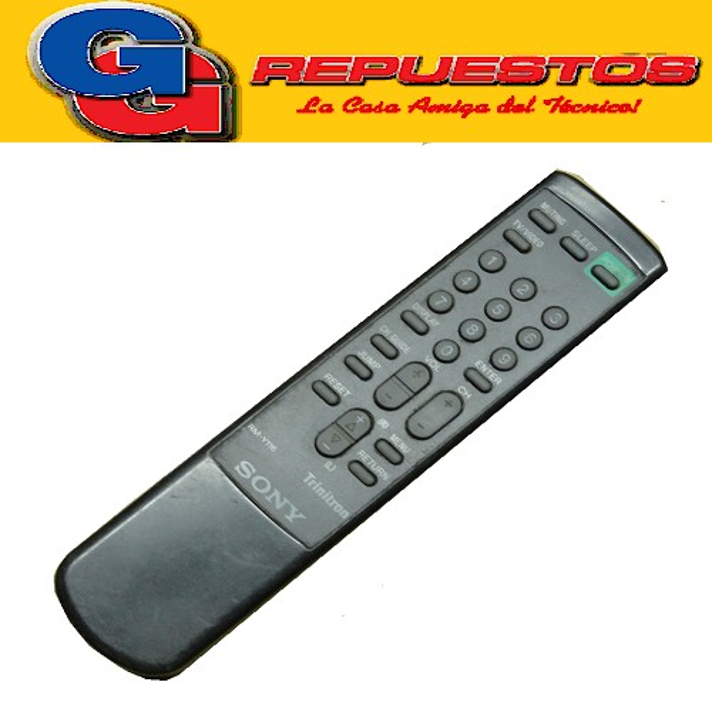 CONTROL REMOTO TV SIMILAR A SONY RMY116