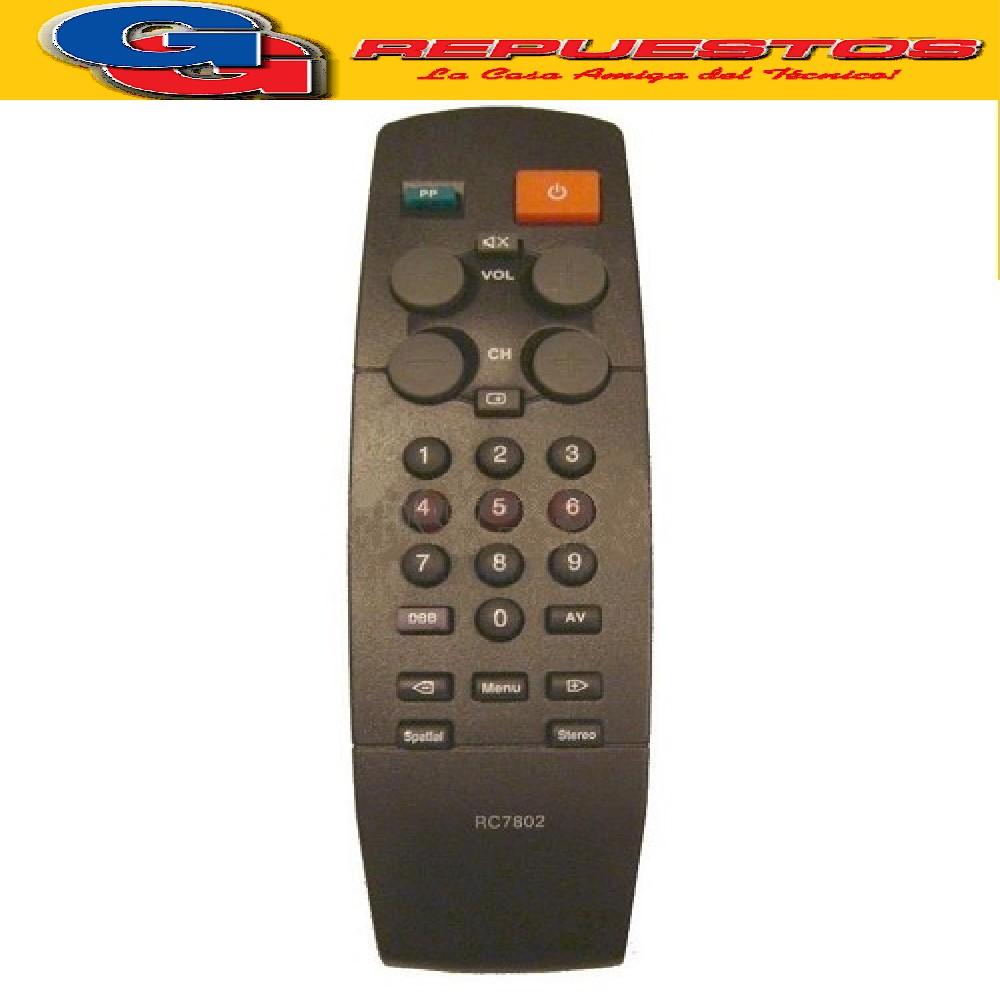 CONTROL REMOTO TV PHILIPS RC7805 (2436)