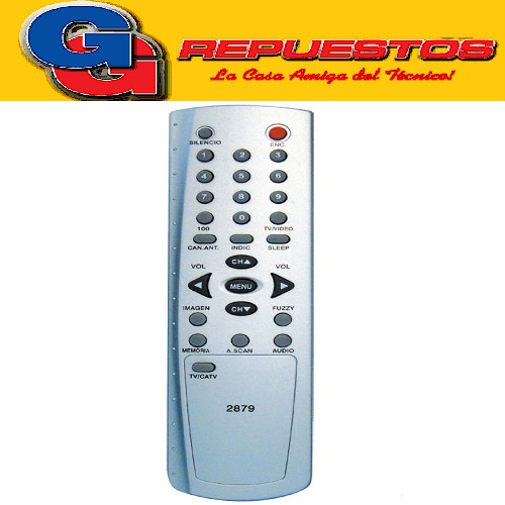 CONTROL REMOTO TV HITACHI 29 R4879 (2879)