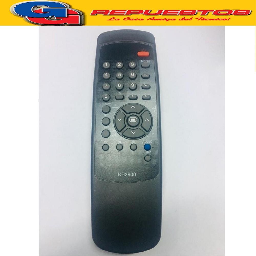 CONTROL REMOTO TV KEN BROWM 29  KB2900 2642