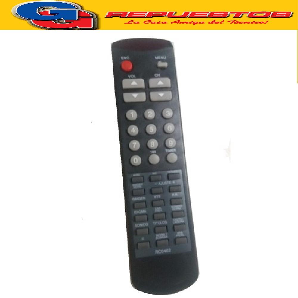 CONTROL REMOTO TV NOBLEX/SAMSUNG RC0402 (2469)