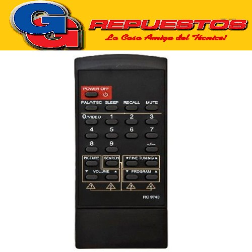 CONTROL REMOTO OLYMPIC TAHOCI RC9740 (2794)