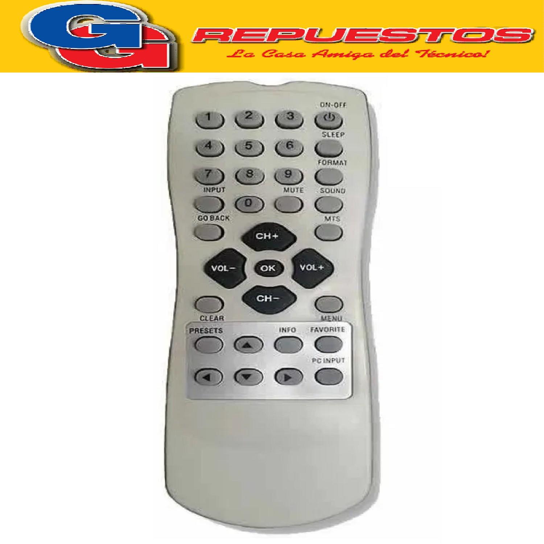 CONTROL REMOTO LCD TCL-RCA 3534 R6534